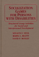 Socialization Games for Persons with Disabilities