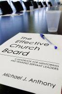 download ebook the effective church board pdf epub