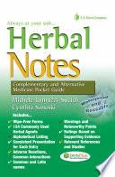 Herbal Notes