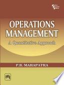 Operations Management   a Quantitative Approach