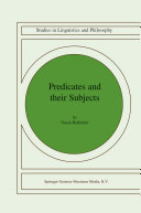 download ebook predicates and their subjects pdf epub