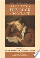 The Edinburgh History of the Book in Scotland  Volume 2  Enlightenment and Expansion 1707 1800