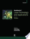Handbook of Laser Technology and Applications  Principles