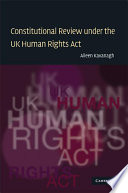 Constitutional Review under the UK Human Rights Act