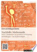 Nachhilfe Mathematik   Teil 6    bungsbuch zur gezielten Vorbereitung auf Pr  fungen     mit Kopiervorlagen