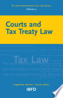 Courts and Tax Treaty Law