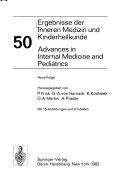 Advances In Internal Medicine And Pediatrics book