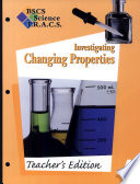 BSCS Science TRACS G4 Inv. Changing Properties, TE