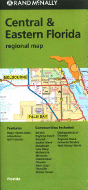 Rand McNally Central   Eastern Florida Regional Map