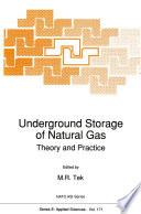 Underground Storage Of Natural Gas
