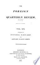 The Foreign quarterly review  ed  by J G  Cochrane