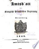 Amtsblatt für den Regierungsbezirk Arnsberg
