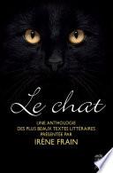 Le chat  une anthologie