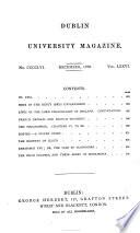 The Dublin University Magazine : ...