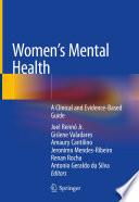 Women s Mental Health Book PDF