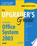 Upgrader s Guide to Microsoft Office System 2003