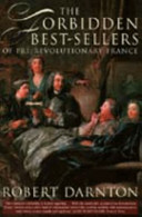 Book The Forbidden Best-sellers of Pre-revolutionary France
