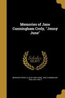 MEMORIES OF JANE CUNNINGHAM CR
