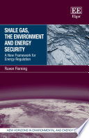 Shale Gas  the Environment and Energy Security