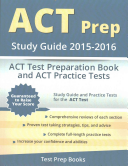 ACT Prep Study Guide 2015 2016