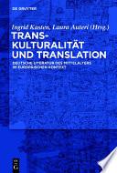 Transkulturalit  t und Translation