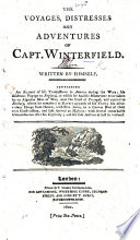 The Life, Voyages ... and wonderful Adventures of Captain Winterfield ... a distinguished rebel chief in Ireland ... Written by himself