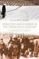 Genocide and Gender in the Twentieth Century