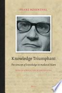 Knowledge Triumphant