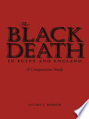 Book The Black Death in Egypt and England