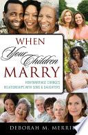 When Your Children Marry