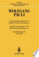 Wissenschaftlicher Briefwechsel mit Bohr, Einstein, Heisenberg u.a. / Scientific Correspondence with Bohr, Einstein, Heisenberg, a.o.