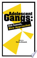 Adolescent Gangs To The Field Of Counseling