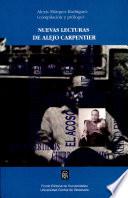 Nuevas lecturas de alejo Carpentier