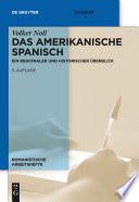 Das amerikanische Spanisch