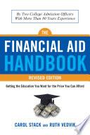 The Financial Aid Handbook  Revised Edition