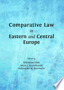 Comparative Law in Eastern and Central Europe