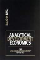 Analytical Development Economics