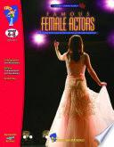Famous Female Actors Gr  4 8