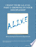 I Want to be A. L. I. V. E. Lives Of Individuals By Empowering Them With The
