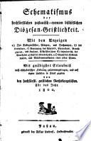 Schematismus des Bistums Passau