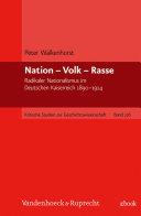Nation – Volk – Rasse