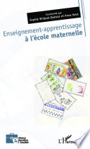 Enseignement apprentissage    l   cole maternelle