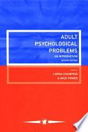Adult Psychological Problems