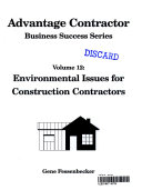 Environmental Issues and the Construction Contractor