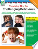 Teaching Tips for Challenging Behaviors  Grades PK   2