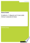 Il simbolo e l ́allegoria nel I Canto della Divina Commedia di Dante