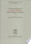 Le visite pastorali di Iacopo Monico nella diocesi di Venezia (1829-1845)
