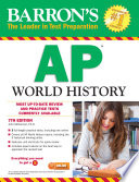 Barron s AP World History  7th edition