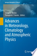 Advances In Meteorology Climatology And Atmospheric Physics book