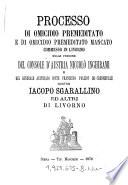 Processo di omicidio premeditato e di omicidio premeditato mancato comesso in Livorno